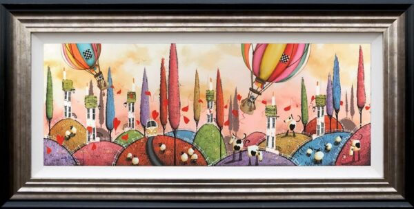 Dale bowen signed limited edition print in the artists recommended frame