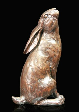 Moon Gazing Bronze Sculpture by Michael Simpson