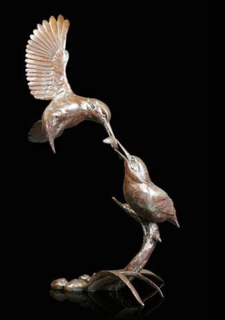 Waters Edge Bronze Sculpture by Michael Simpson