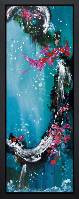 Wind - Hand Embellished, Signed Limited Edition Boxed Canvas Print by Danielle O'Connor Akiyama Unframed