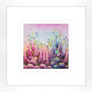 Lyrical Splendour - Signed Limited Edition paper Print by Leanne Christie- Mounted and Framed
