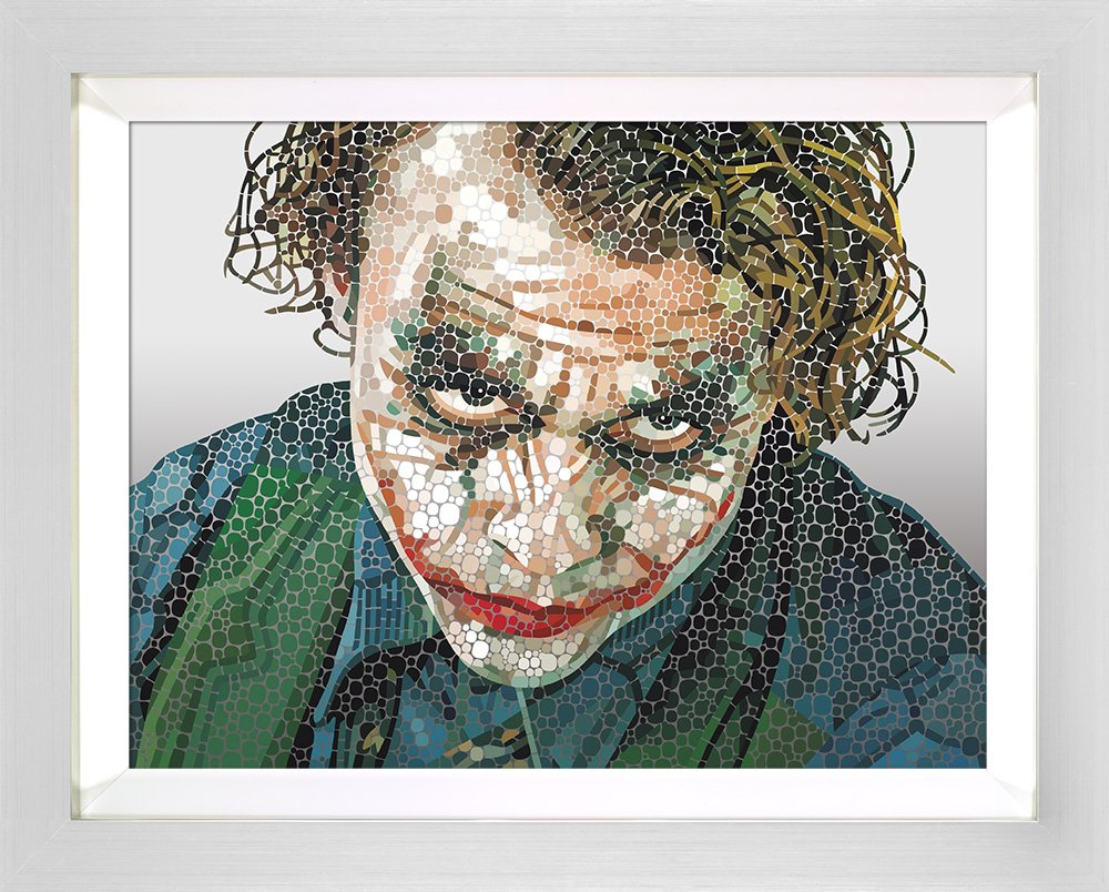 Call Me Crazy - Signed Limited Edition paper Print by Paul Normansell - Mounted And Framed