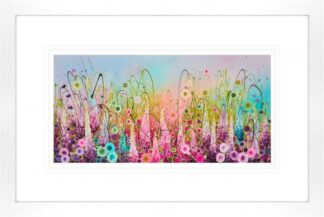 Chasing Rainbows - Signed Limited Edition paper Print by Leanne Christie- Mounted and Framed