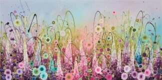 Chasing Rainbows - Signed Limited Edition paper Print by Leanne Christie- Mounted