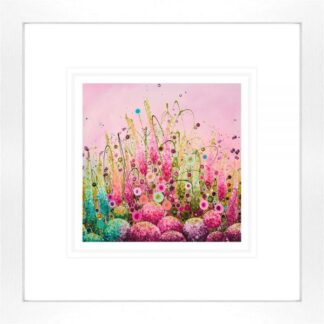 Delicate Splendour - Signed Limited Edition paper Print by Leanne Christie- Mounted and Framed