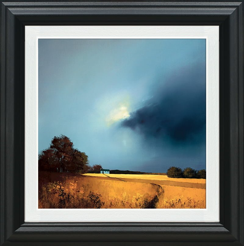 Golden Fields Of Home - Signed Limited Edition Paper Print by Barry Hilton Mounted And Framed