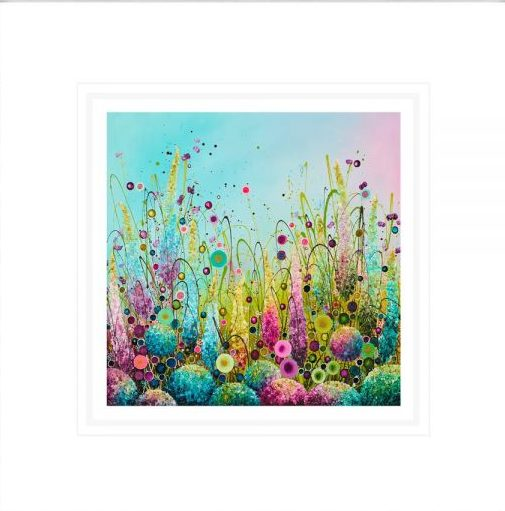 Imperial Splendour - Signed Limited Edition paper Print by Leanne Christie- Mounted and Framed