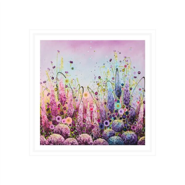 Lyrical Splendour - Signed Limited Edition paper Print by Leanne Christie- Mounted