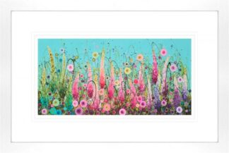 Ornamental Paradise - Signed Limited Edition paper Print by Leanne Christie- Mounted and Framed