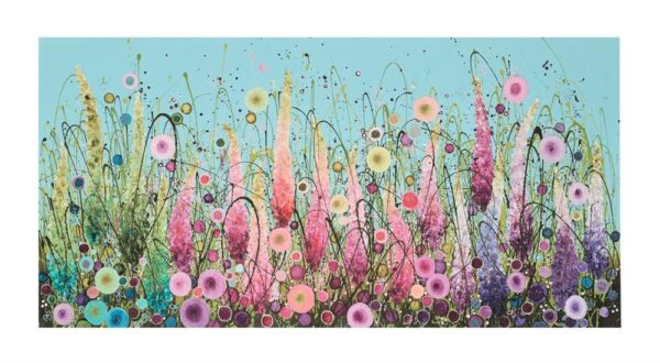 Ornamental Paradise - Signed Limited Edition paper Print by Leanne Christie- Mounted