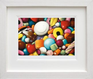 Pick Me! - Signed Limited Edition paper Print by Doug Hyde - Mounted and Framed