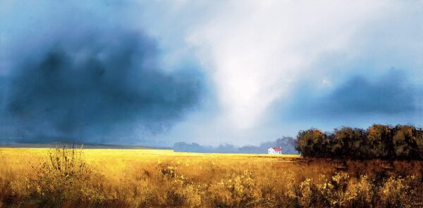 Shades Of Dawn - Signed Limited Edition Paper Print by Barry Hilton Mounted Unframed