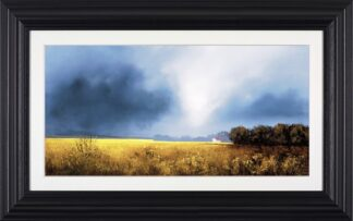 Shades Of Dawn - Signed Limited Edition Paper Print by Barry Hilton Mounted And Framed