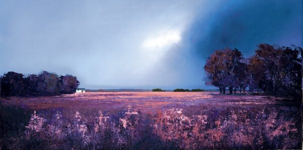 Shades Of Dusk - Signed Limited Edition Paper Print by Barry Hilton Mounted Unframed