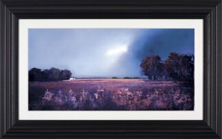 Shades Of Dusk - Signed Limited Edition Paper Print by Barry Hilton Mounted And Framed