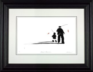 Sweet Memories - Signed Limited Edition Paper Print by Mackenzie Thorpe - Mounted Framed