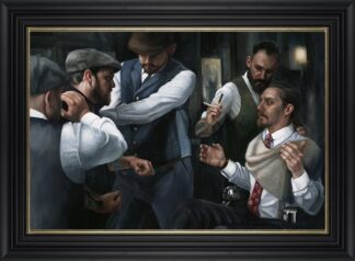 The Betrayal - Signed Limited Edition Canvas Print on board by Vincent Kamp - Framed