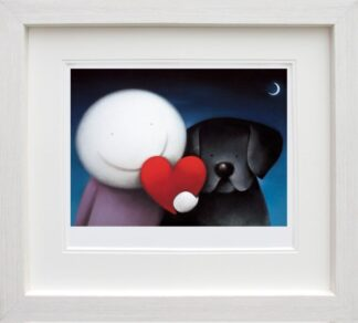 We Share Love - Signed Limited Edition paper Print by Doug Hyde - Mounted and Framed