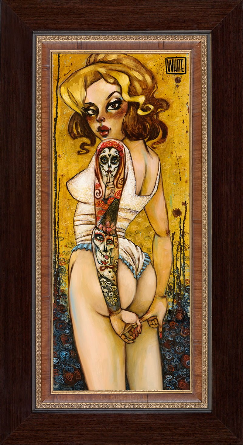 Tainted Love - Signed Limited Edition Canvas Print on Board by Todd White - Compulsory Framed