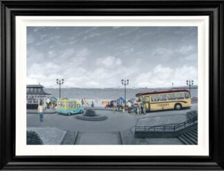 A World Away - Signed Limited Edition Deluxe Canvas Print on Board by Leigh Lambert - Mounted And Framed
