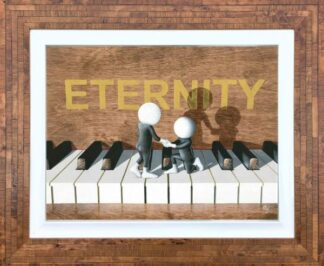 Eternity - Signed Limited Edition 3D Resined Giclee on Paper By Mark Grieves Framed