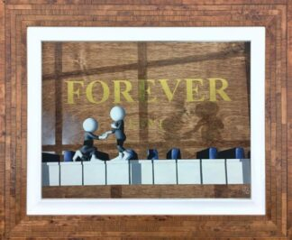 Forever - Signed Limited Edition 3D Resined Giclee on Paper By Mark Grieves Framed