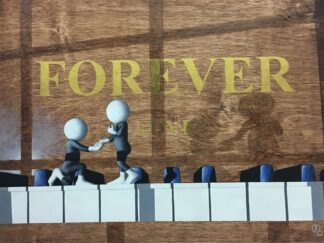 Forever - Signed Limited Edition 3D Resined Giclee on Paper By Mark Grieves Unframed