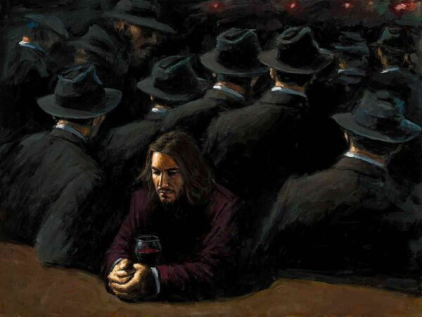 Untitled II Young - Signed Limited Edition Canvas Print on Board by Fabian Perez - Unframed