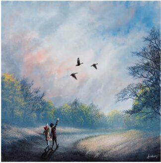 Fly With Me - Signed Limited Edition Paper Print By Danny Abrahams - Mounted Unframed