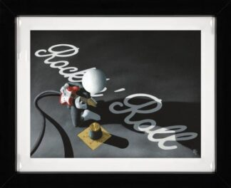 Rock 'N' Roll - Signed Limited Edition Hi Gloss Print By Mark Grieves - Mounted And Framed