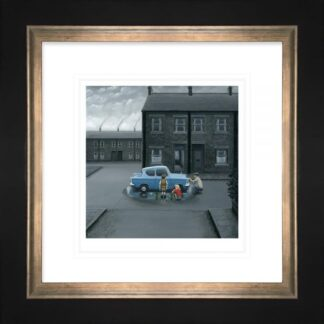 You Missed A Bit - Signed Limited Edition Paper Print by Leigh Lambert - Mounted And Framed