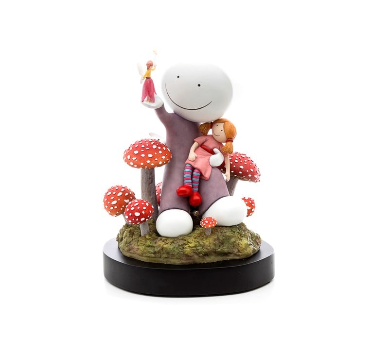 Make A Wish - Signed Limited Edition Cold Cast Porcelain Sculpture By Doug Hyde