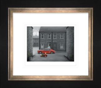 Mines Faster Than Yours - Signed Limited Edition Paper Print by Leigh Lambert - Mounted And Framed