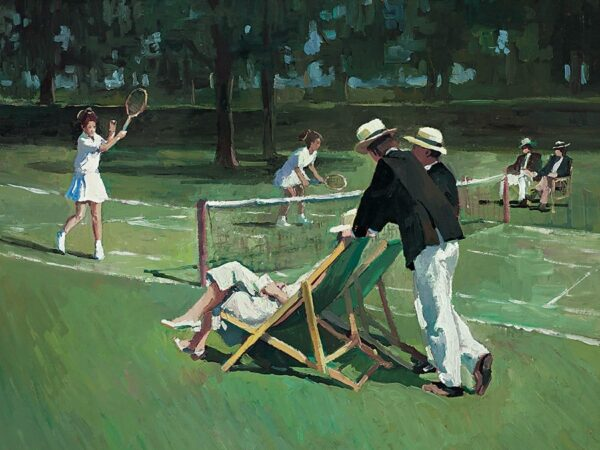 Perfect Match - Signed Limited Edition Hand Embellished Canvas print on Board by Sherree Valentine Daines - Unframed