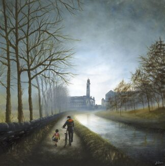 Enjoying the long walk home - signed limited edition print by Danny Abrahams - Unframed