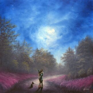 A Magical Moment Under The Moonlight - Signed Limited Edition Print by Danny Abrahams - Unframed