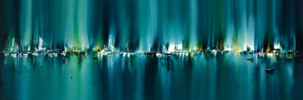 Radiant Harbour - Signed Limited Edition Print by Philip Gray - Unframed