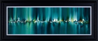 Radiant Harbour - Signed Limited Edition Print By Philip Gray - Mounted And Framed