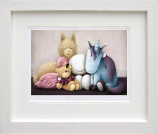 Best Friends Forever - Signed Limited Edition Paper Print by Doug Hyde - Mounted And Framed