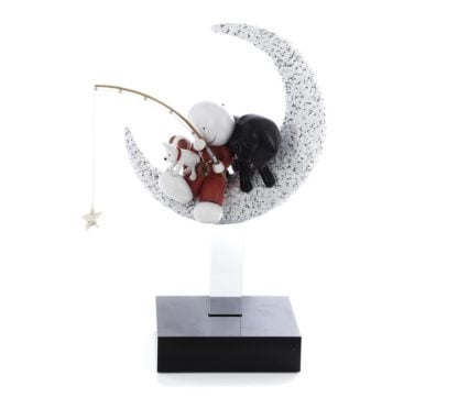 Catch A Falling Star - Signed Limited Edition Cold Cast Resin Sculpture by Doug Hyde