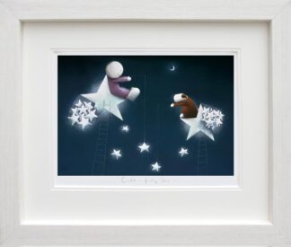 Catch A Falling Star - Signed Limited Edition Paper Print by Doug Hyde - Mounted and Framed