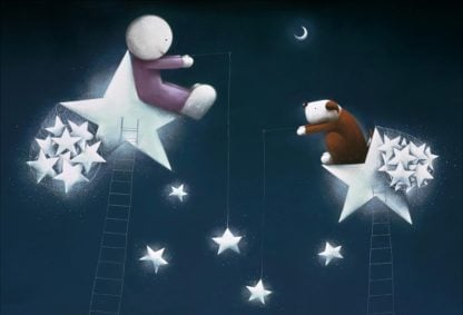Catch A Falling Star - Signed Limited Edition Paper print by Doug Hyde - Mounted