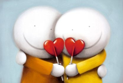 Sweethearts - Signed Limited Edition Paper Print By Doug Hyde - Mounted