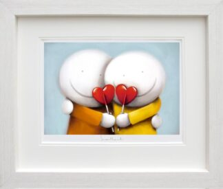 Sweethearts - Signed Limited Edition Paper Print by Doug Hyde - Mounted And Framed