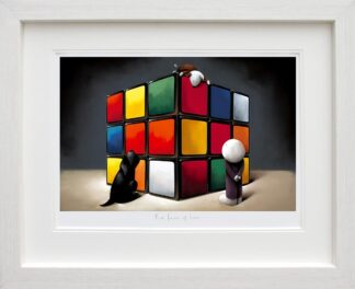 The Face Of Love - Signed Limited Edition Paper print by Doug Hyde - Mounted and Framed
