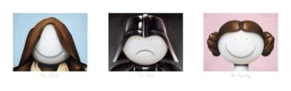 The Good, The Bad, The lovely - Signed Limited Edition print by Doug Hyde - Mounted