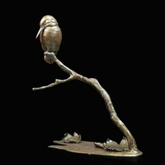 Autumn Breeze - Signed limited edition bronze Sculpture from Richard Cooper Art