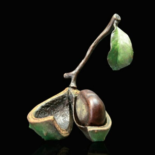 conker - Signed limited edition bronze Sculpture from Richard Cooper Art