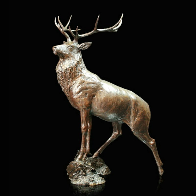 Moorland - Signed limited edition bronze Sculpture from Richard Cooper Art