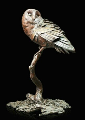 Night Owl - Signed limited edition bronze Sculpture from Richard Cooper Art